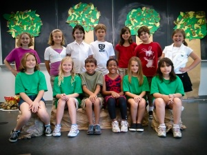 WCCC summer Theater Cast Photo