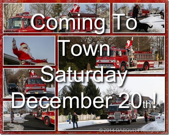 98 Fire Santa Sleigh 2014 Promo
