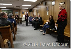 Greenwich Township 2014 New Years Day Meeting