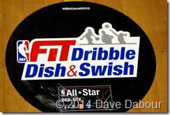 GTRC NBA Fit Dribble, Dish & Swish