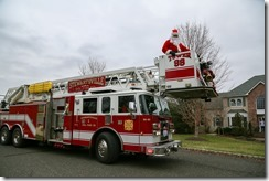 Santa Comes to Greenwich Twp