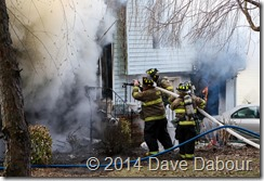 Warren St Structure Fire