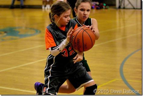 Greenwich Grizzlies Girls U09C Basketball Feb 28 2015