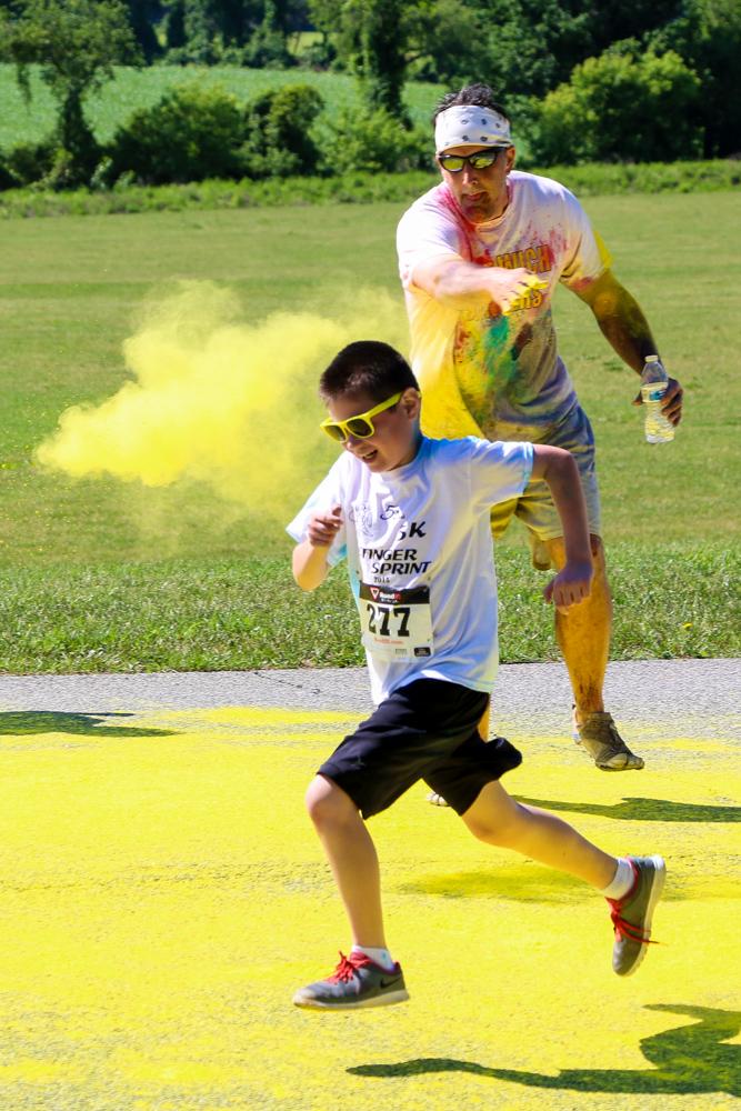 Stinger Sprint 2015 Color Run (1/4)