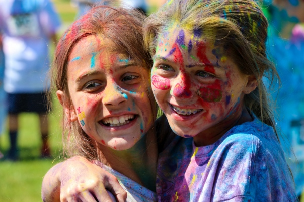 "Stinger Sprint 2015 included a Color Run this year. This was followed by an ""After Blast"" party. Photo by DAVE DABOUR"