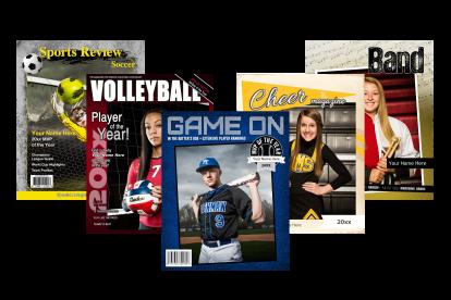8 x 10 Magazine cover