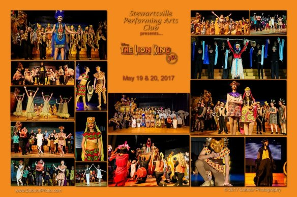 "Stewartsville Performing Arts Club (SPAC) presents Disney's ""The Lion King Jr"" in May 2017"