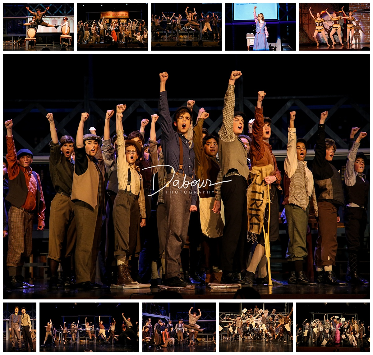brooklyn cast,newsies,skit,